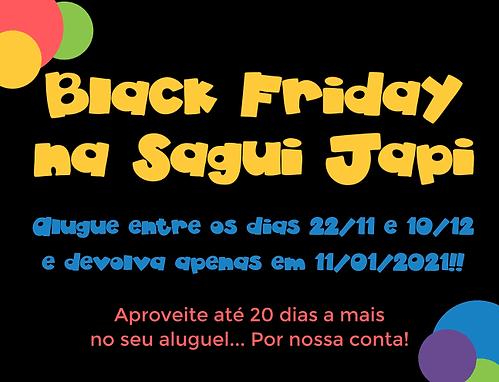 Black Friday da Sagui Japi