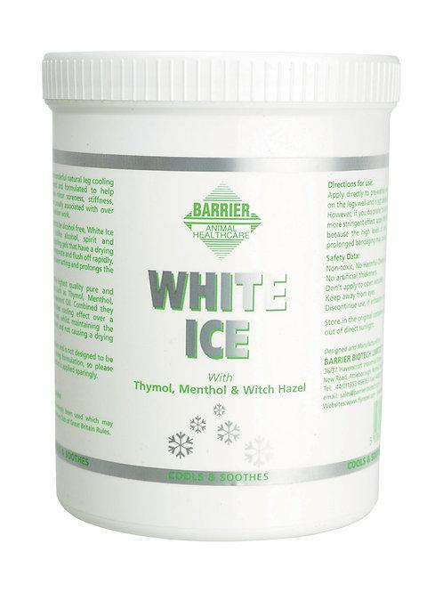 Barrier White Ice