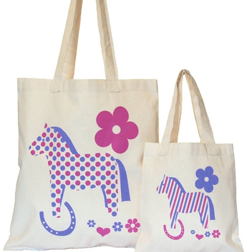 Moorland Rider Cotton Gift Bag Small