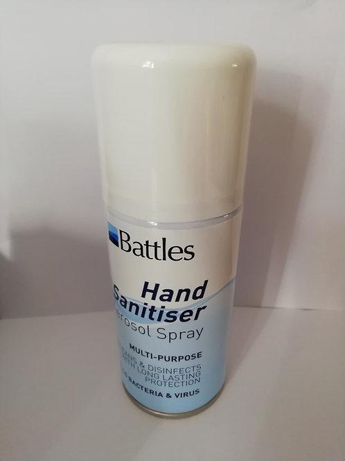 Battles Hand Sanitiser Aerosol Spray