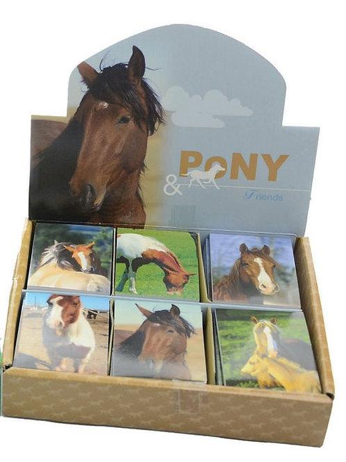 Pony Mini Note Pad