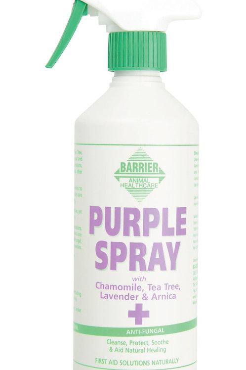 Barrier Purple Spray