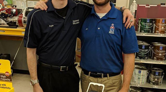 Jim Corso and Kyle
