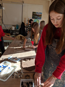 Clay Heart Workshop with NAHS