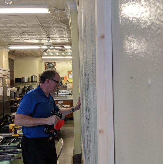 Scott securing frame