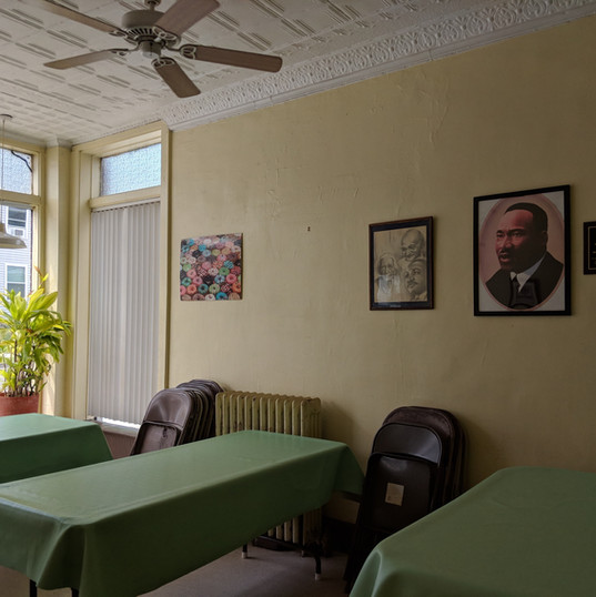 Dining Room with Window