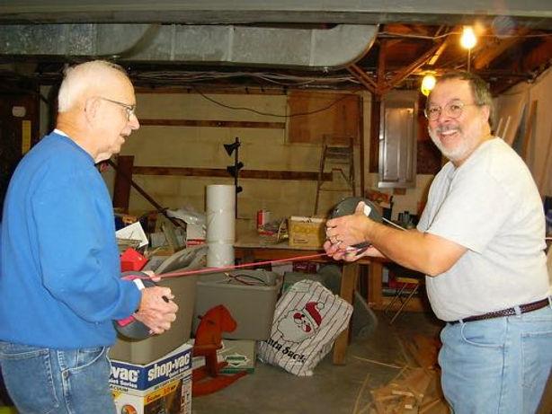 Frank Hughes and Tom twisting wire.jpg
