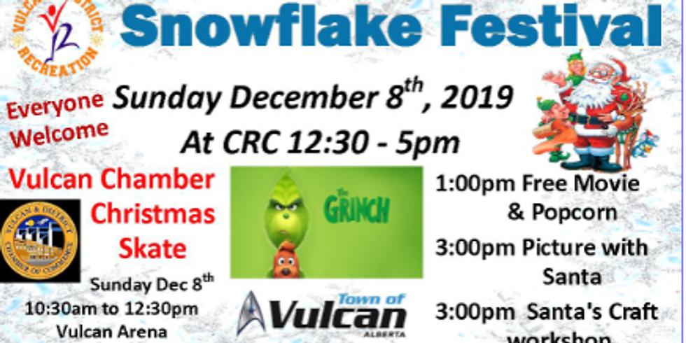 Town of Vulcan: Snowflake Festival