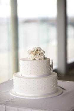 Beachside Wedding cake