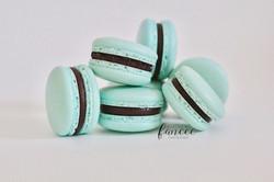 Tiffany Blue Macarons