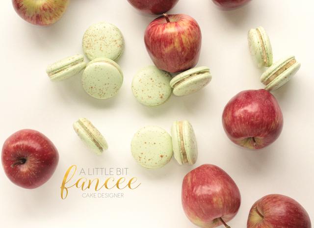Gourmet Apple Pie Macarons
