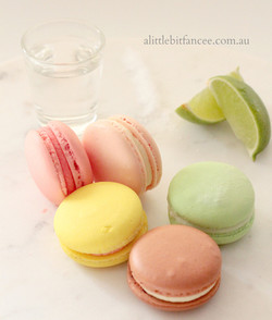 Alcoholic Macarons