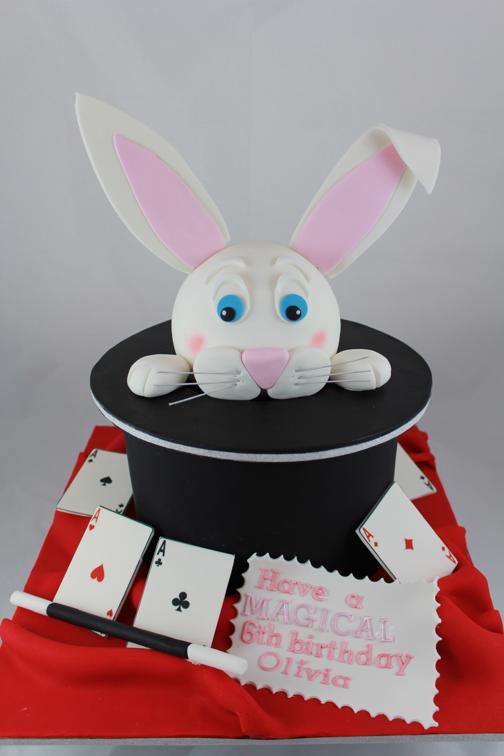 Magic Rabbit Cake