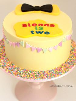 Wiggles inspired cake