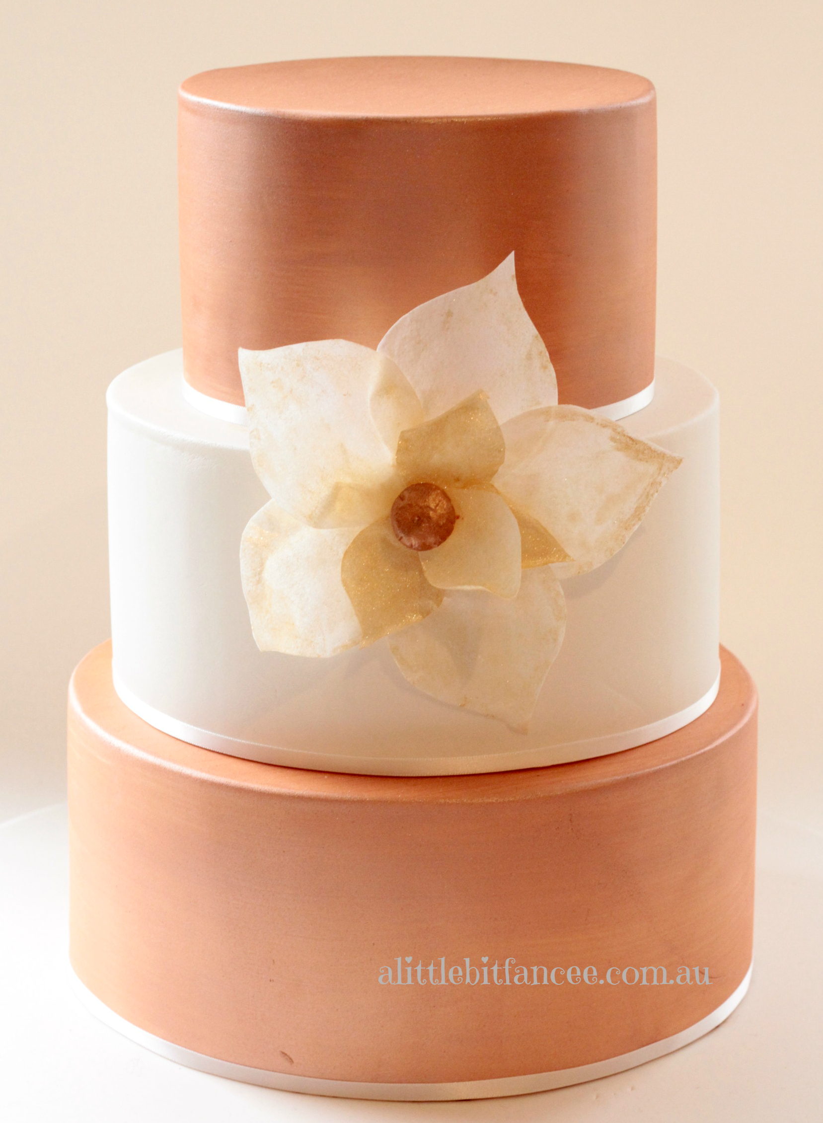 Copper Bronze cake