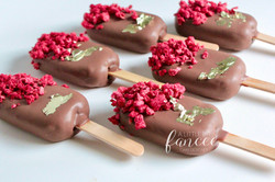 Raspberry milk chocolate