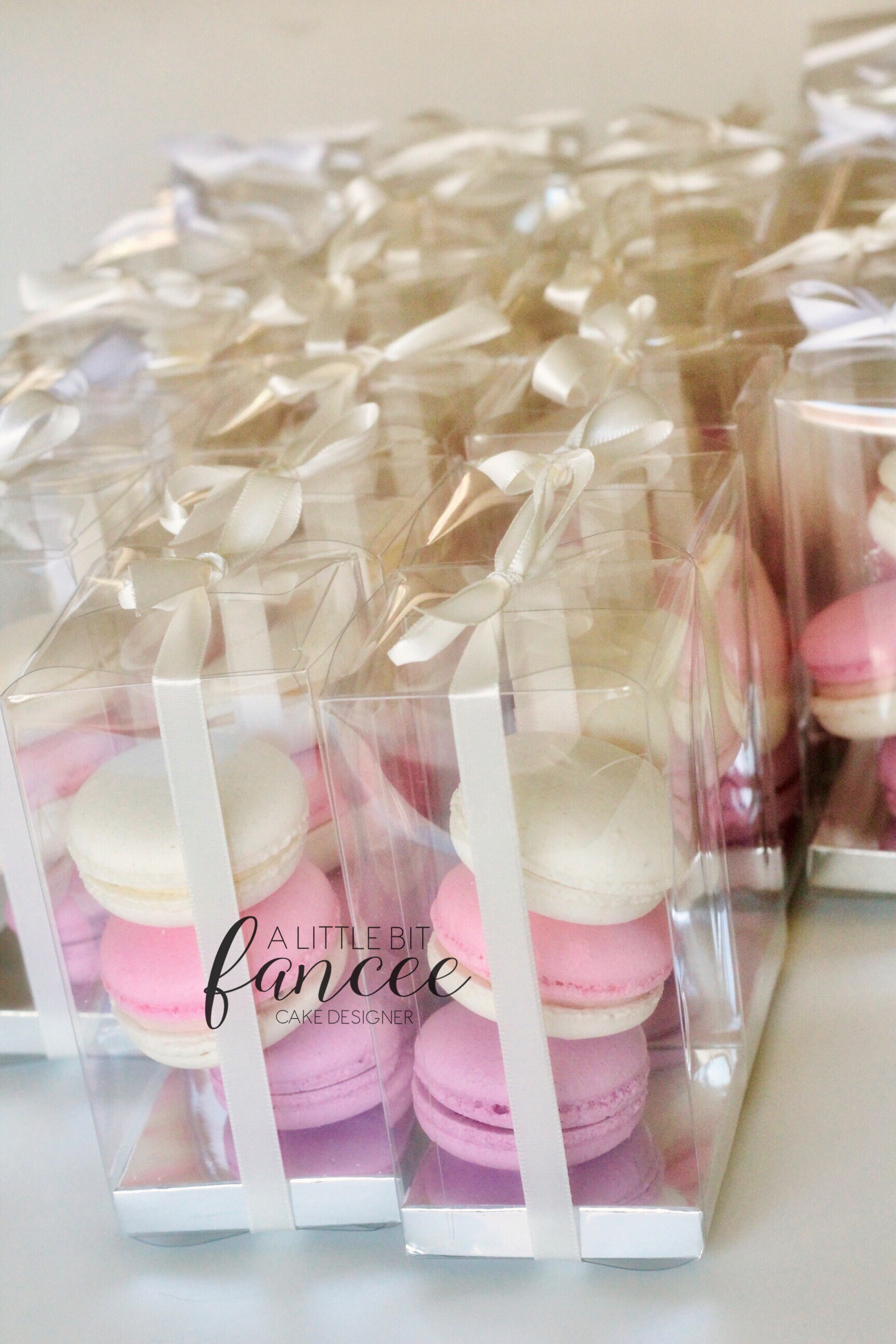 Wedding Favours Macarons