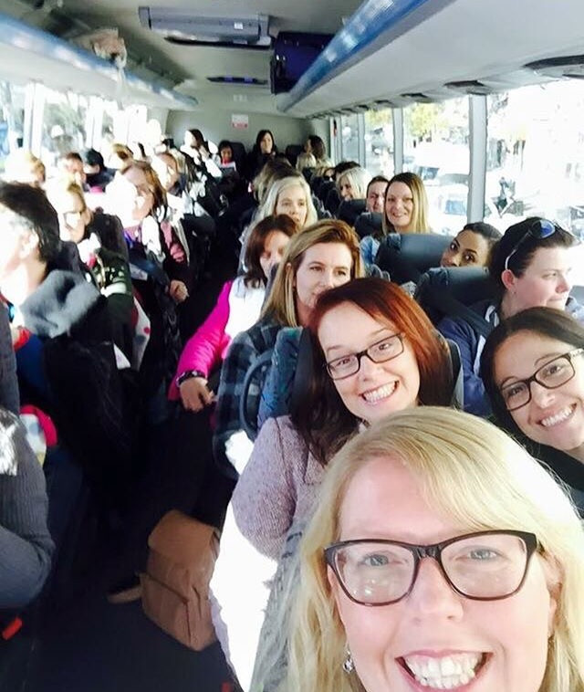 On the bus! Image supplied by ACDN