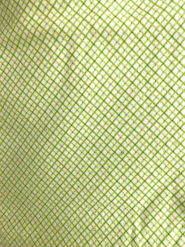 Green with Diamonds