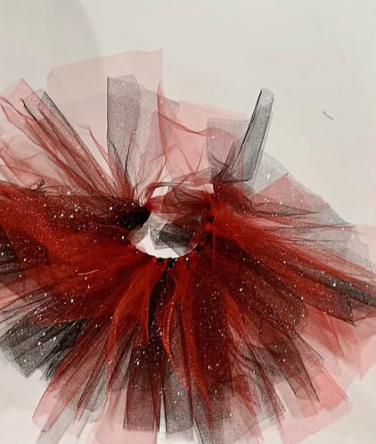 Red & Black Sparkle