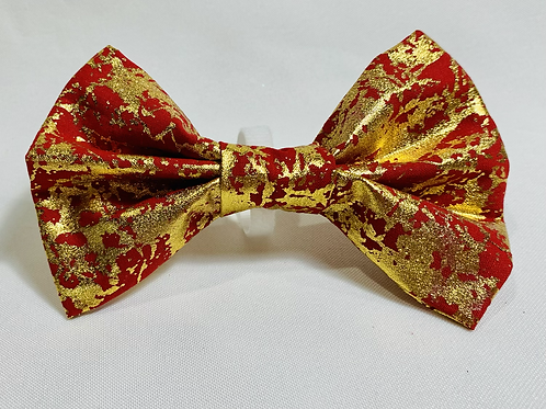 Red, Gold Crackle