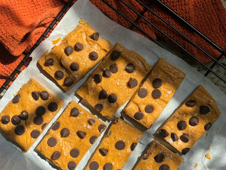 Dairy-Free, Gluten-Free, Copycat Pumpkin Perfect Bar (with Chocolate Chips!)