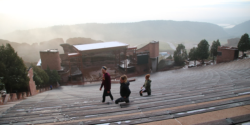 Red Rocks Workout: Saturday boot camp