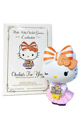 Hello Kitty Orchid Garden Figurine