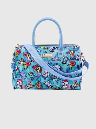 Watercolour Paradise Bowler Bag