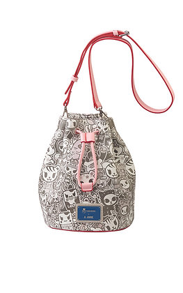 TDxAN Monochrome No. 1 Bucket Bag (Pink)
