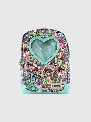 California Dreamin' Heart Window Backpack