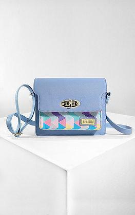 Carolina Blue Satchel Bag