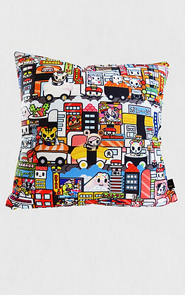 TDxAN Sushi Town Car Cushion