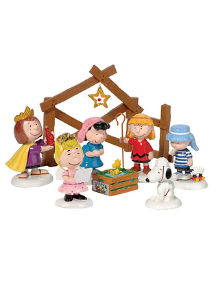Peanuts Pageant, Set Of 8