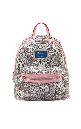 TDxAN Monochrome No. 1 Backpack (Pink)