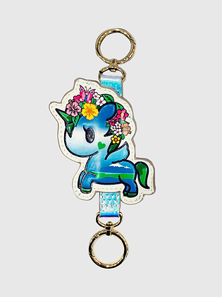Watercolour Paradise Keychain