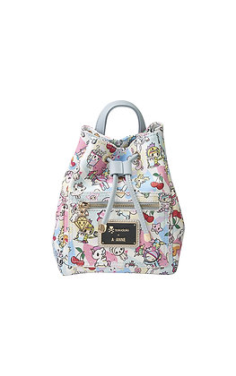 TDxAN Pastel Stories Mini Convertible Bucket Bag
