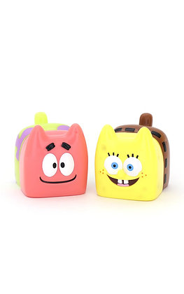 Spongebob & Patrick Boxcat
