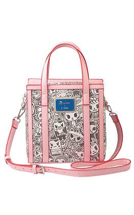 TDxAN Monochrome No. 1 Handbag (Pink)