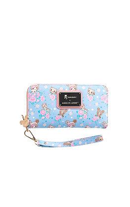 Pastel Clover Wallet