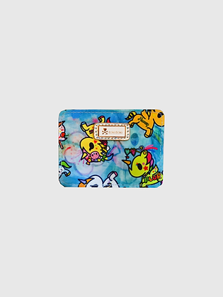 Watercolour Paradise Card Holder