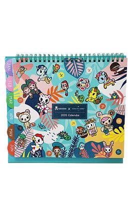 TDxAN 2020 Calendar (Jungle)