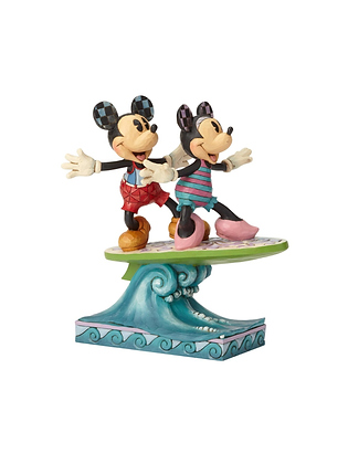 Minnie & Mickey Surfboard