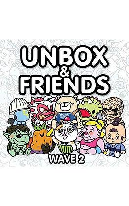 Unbox & Friends Wave 2 : Case of 12 Blind Boxes