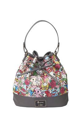 TDxAN Pop Camo (Red) Bucket Bag