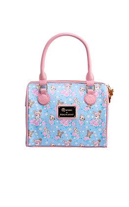 Pastel Clover Bowler Bag
