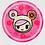 Thumbnail: TDxAN Pink Sakura & Sushi Car Ceramic Coaster Set