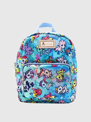 Watercolour Paradise Small Backpack