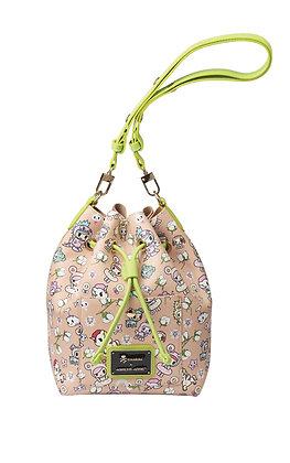 TDxAN Summer-in-Rio Structured Bucket Bag