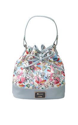 TDxAN Pastel Stories Bucket Bag